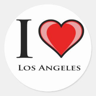 Amo Los Ángeles Pegatinas