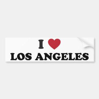 Amo Los Ángeles Pegatina Para Coche