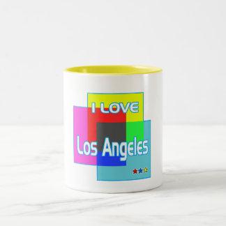 """""""AMO Los Ángeles que colorea 2"""" taza"""
