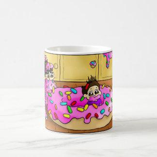¡Amo los anillos de espuma!!! Taza Clásica