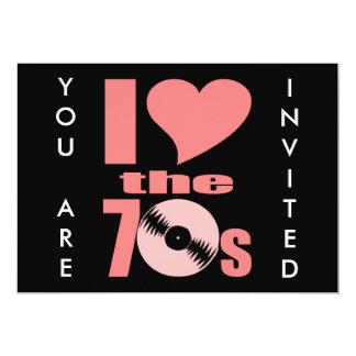 Amo los años 70 anuncio personalizado