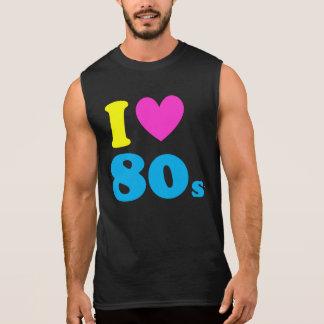 Amo los años 80 camiseta sin mangas