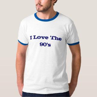 Amo los años 90 camiseta