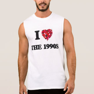 Amo los años 90 camiseta sin mangas