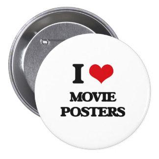 Amo los carteles de película pins
