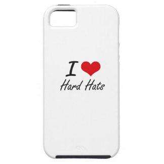 Amo los cascos iPhone 5 Case-Mate cárcasa