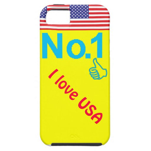 Amo los E.E.U.U. iPhone 5 Carcasas