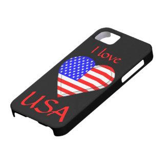 Amo los E.E.U.U. Funda Para iPhone SE/5/5s