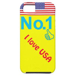 Amo los E E U U iPhone 5 Carcasas