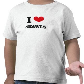 Amo los mantones camiseta