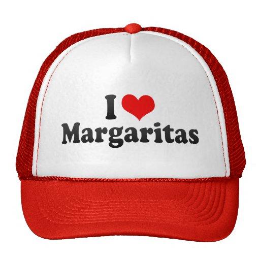 Amo los Margaritas Gorras