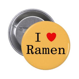 Amo los Ramen Chapa Redonda De 5 Cm