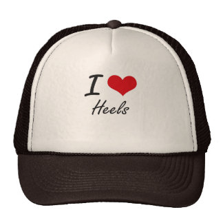 Amo los talones gorras de camionero