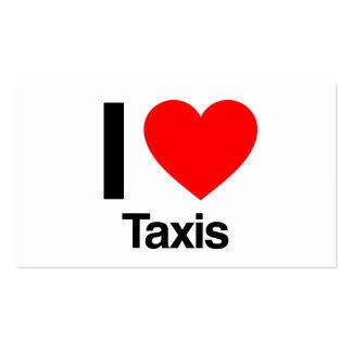 amo los taxis tarjeta de visita