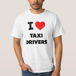 Amo los taxistas camiseta