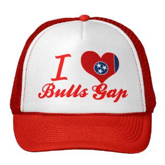 Amo los toros Gap, Tennessee Gorra