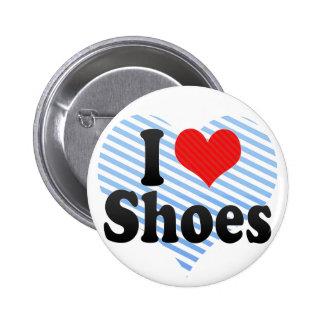 Amo los zapatos pin