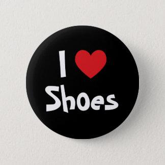 Amo los zapatos chapa redonda de 5 cm