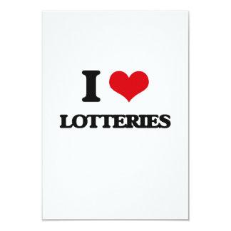 Amo loterías invitación personalizada