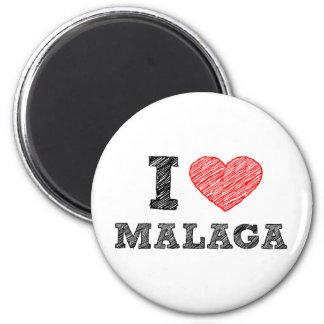 Amo Málaga Imán Redondo 5 Cm