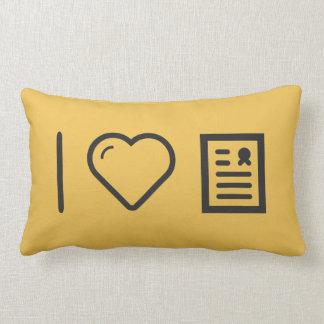 Amo marcos del diploma almohadas
