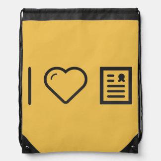 Amo marcos del diploma mochila