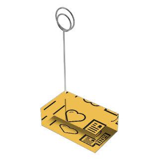 Amo marcos del diploma soporte para tarjeta de mesa
