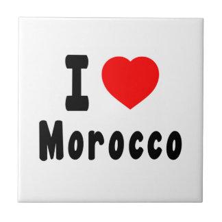 Amo Marruecos Teja Cerámica