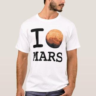 """""""Amo Marte"""" que amo la camiseta del estilo de NY"""