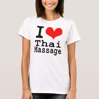 Amo masaje tailandés camiseta