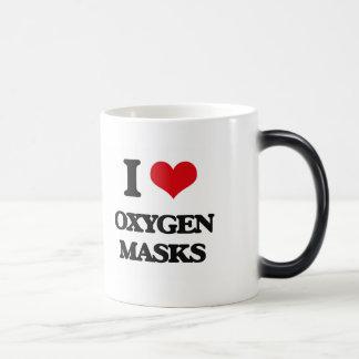 Amo máscaras de oxígeno taza mágica