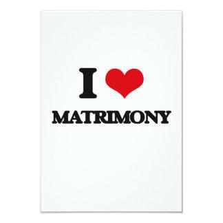 Amo matrimonio invitación 8,9 x 12,7 cm
