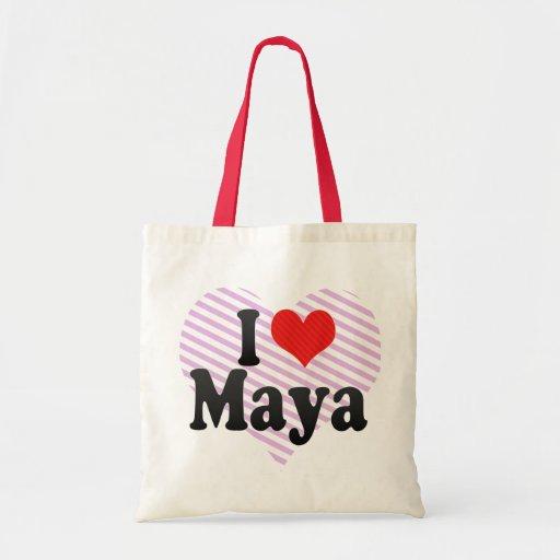 Amo maya bolsa de mano