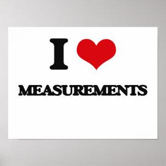 Amo medidas poster