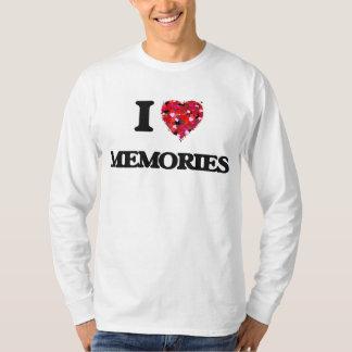 Amo memorias camisetas