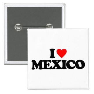 AMO MÉXICO PIN