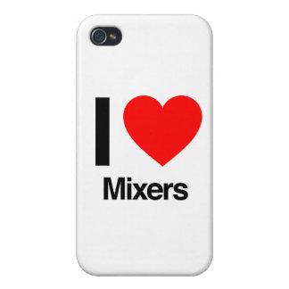 amo mezcladores iPhone 4 carcasas