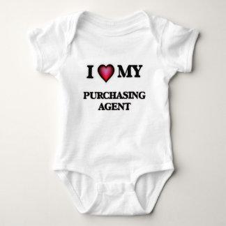 Amo mi agente de compra body para bebé