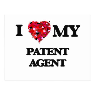 Amo mi agente de patente postal