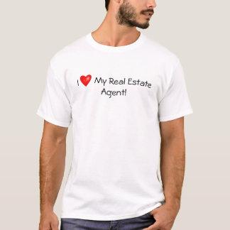 ¡Amo mi agente inmobiliario! Camiseta