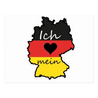 Amo mi Alemania Postal