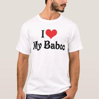 Amo mi Baboo Camiseta