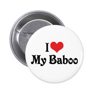 Amo mi Baboo Chapa Redonda De 5 Cm