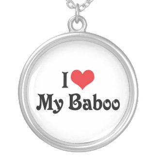 Amo mi Baboo Collares Personalizados