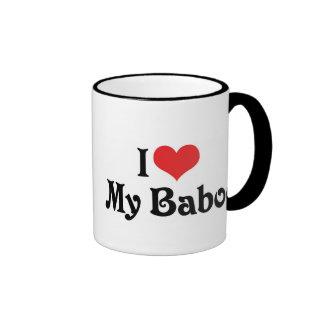 Amo mi Baboo Taza De Café