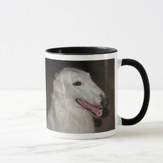 ¡Amo mi Borzoi! Taza de café