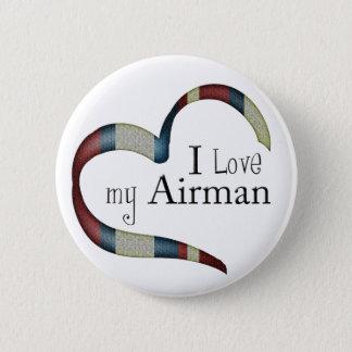 Amo mi botón del aviador