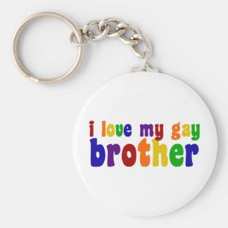 Amo mi Brother gay Llaveros