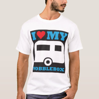 Amo mi caja del giro excéntrico camiseta