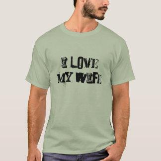 Amo mi camisa de la esposa